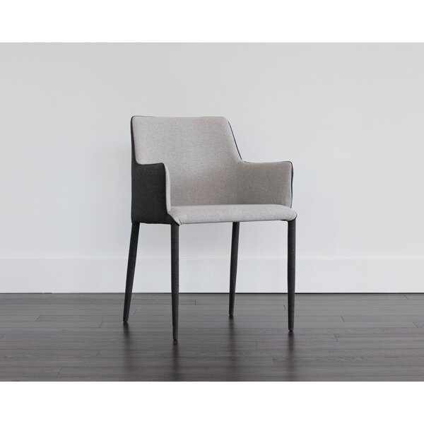 Canyon Upholstered Dining Chair (Set of 2) by Orren Ellis