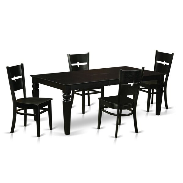 Cowen 5 Piece Dining Set by Latitude Run