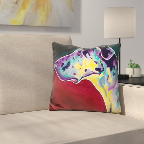 Boz Throw Pillow by East Urban Home