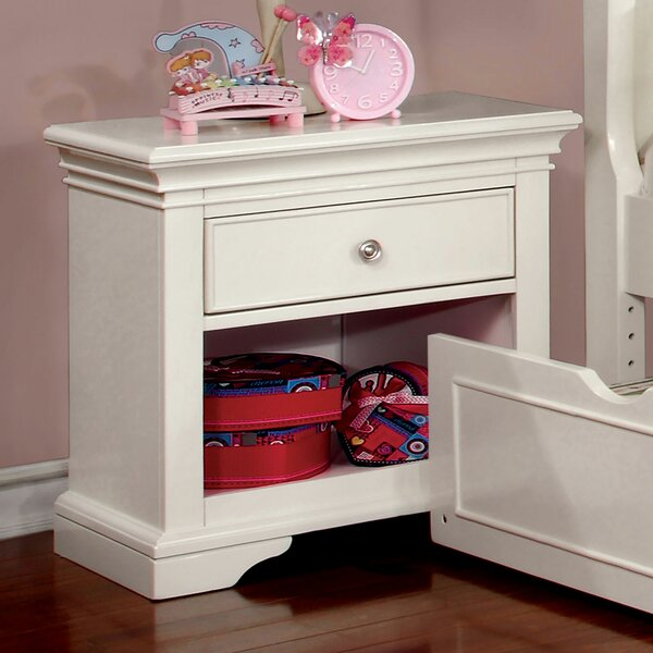 Salters 1 Drawer Nightstand by Harriet Bee