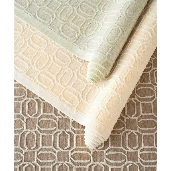 Galeton Hand-Knotted Beige Area Rug by Gracie Oaks