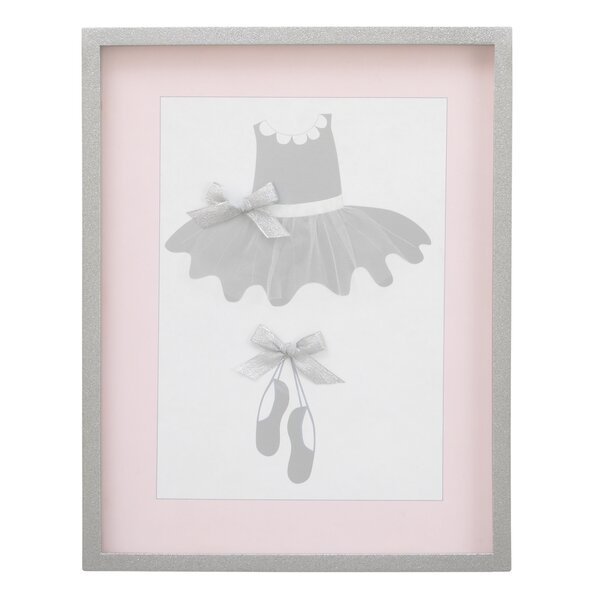 Ballerina Bows Frame Wall Hanging by NoJo