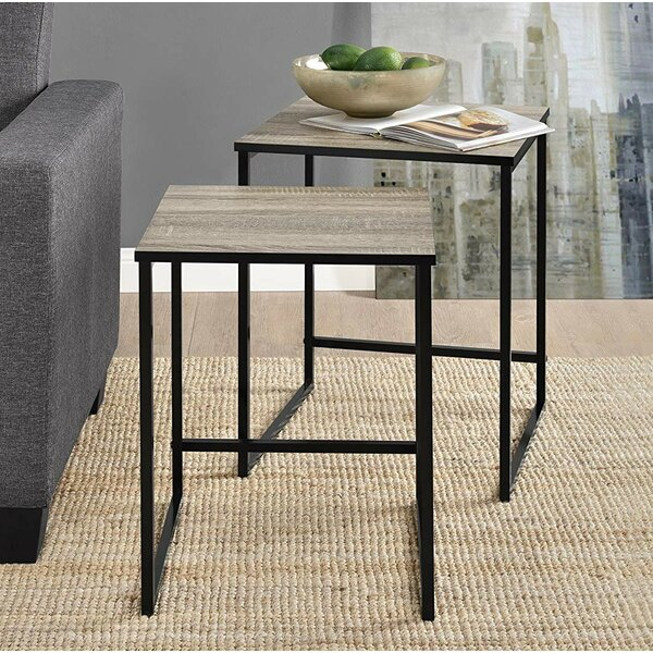 West Oak Lane Sled Nesting Tables by 17 Stories 17 Stories
