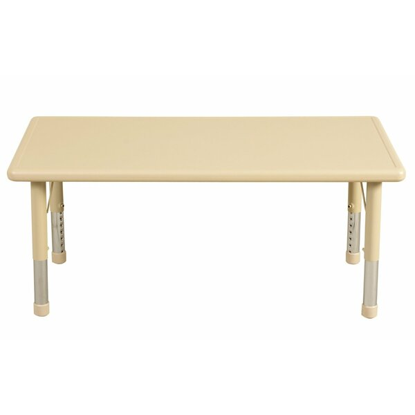 Classroom Play School 48 x 24 Rectangular Activity Table by Offex
