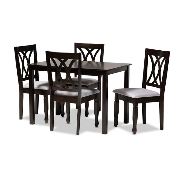 Botts 5 Piece Dining Set by Canora Grey