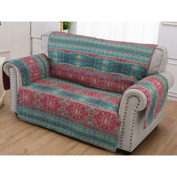 Loveseat Slipcover by World Menagerie