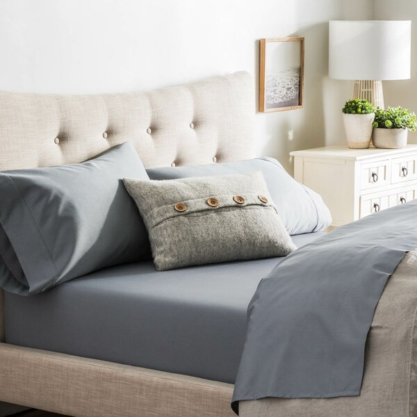 Crissman 600 Thread Count Sateen Sheet Set by Alcott Hill
