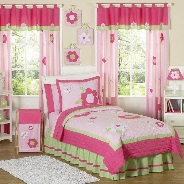 Flower Twin Comforter Set by Sweet Jojo Designs