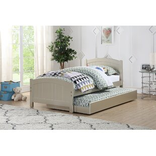 Saucedo Twin Platform Bed with Trundle by Harriet Bee