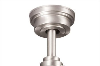 Ceiling Fan Down Rod in Brushed Nickel by Kichler