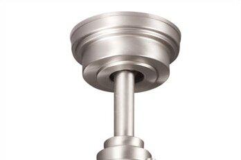 Ceiling Fan Down Rod in Brushed Nickel by Kichler