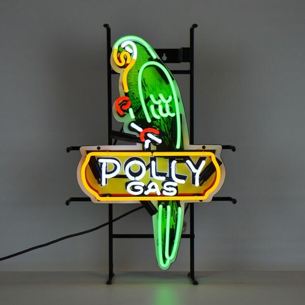 Shaped Polly Gas Neon Sign by Neonetics