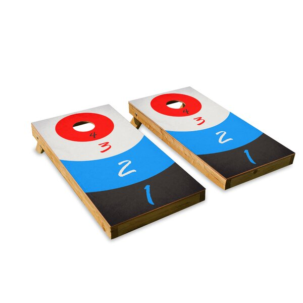 Drinking Game Cornhole Board (Set of 2) by The Cornhole Crew