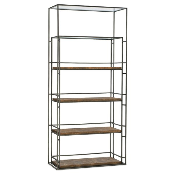 Melange Griffin Etagere Bookcase by Hooker Furniture