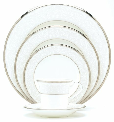 Silver Palace Bone China 20 Piece Dinnerware Set, Service for 4 by Noritake