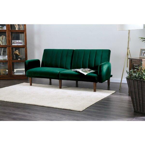 Top Reviews Rebecca Modern Convertible Sofa by Mercer41 by Mercer41