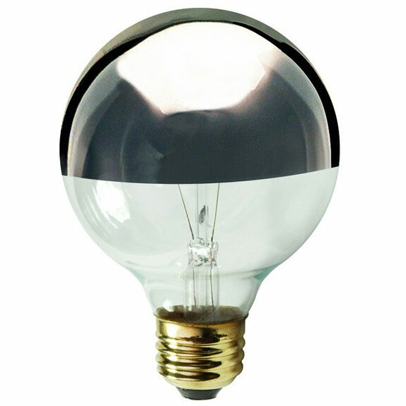 Gray/Smoke E12/Candelabra Incandescent Light Bulb (Set of 19) by Bulbrite Industries