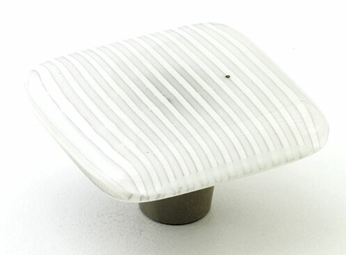 Stripe Square Knob by Windborne Studios