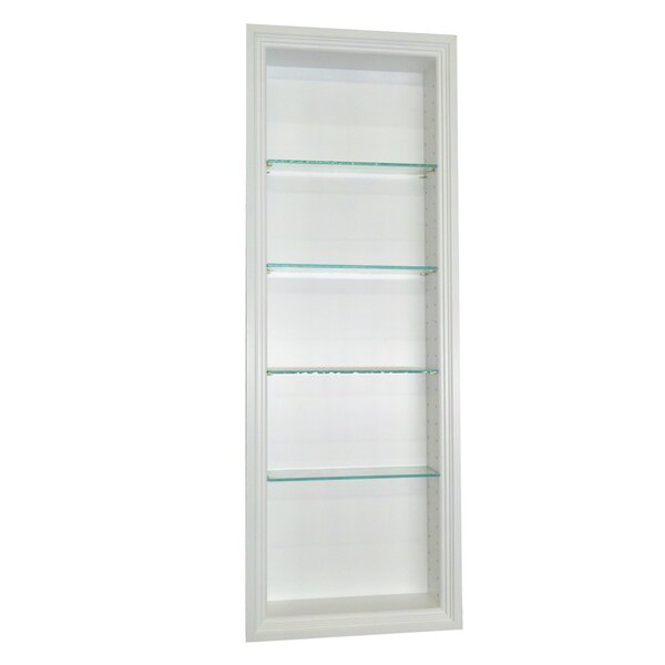 Bal Harbour 15.5 W x 49.5'' H Recessed Shelving by WG Wood Products