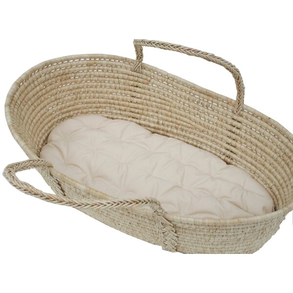 Cotton Moses Basket 1.5 Bassinet Mattress by Wendy