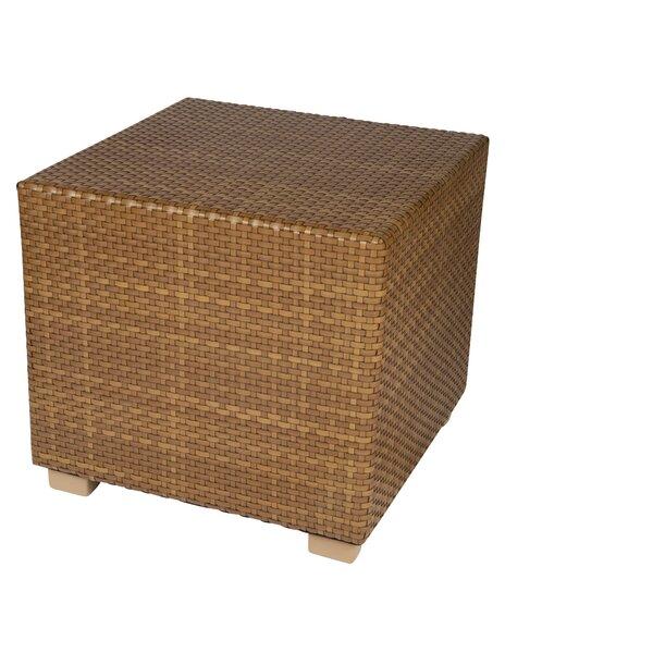 Sedona Wicker Side Table by Woodard