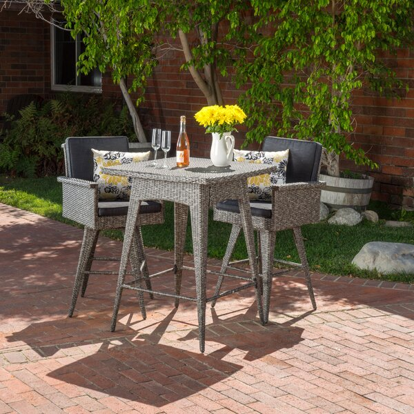Washington 3 Piece Bistro Set by Rosecliff Heights Rosecliff Heights