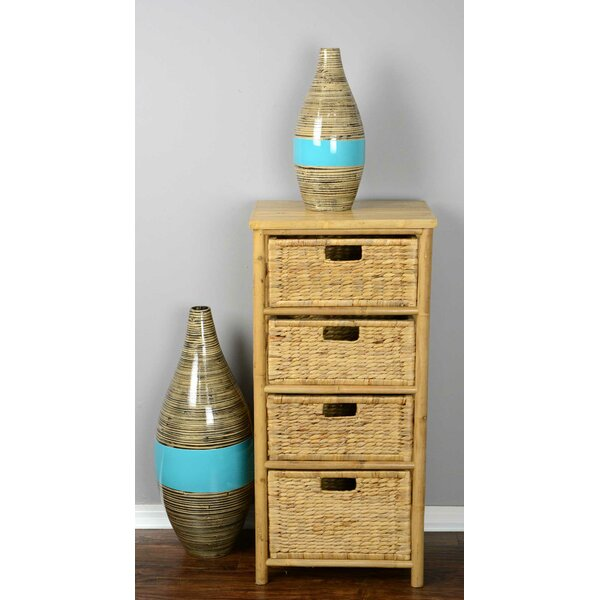 Elim 3 Drawer Bamboo Accent Chest
