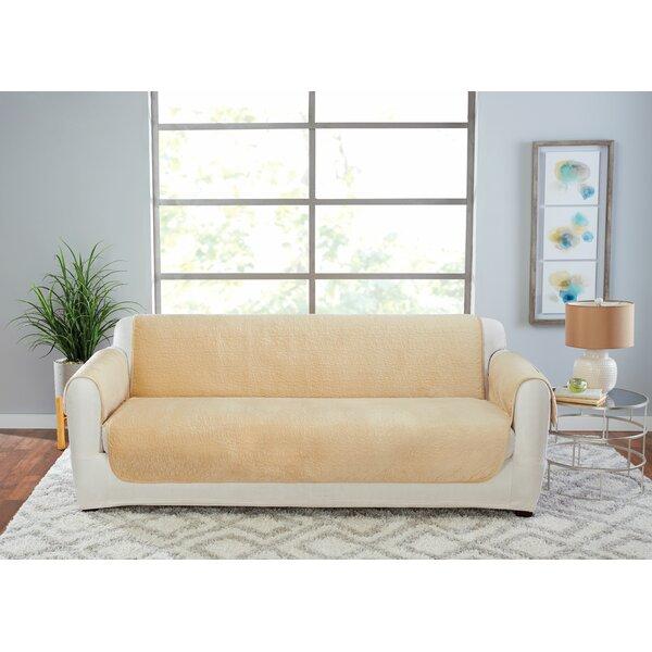 Elegant Pick Stitch Sofa Slipcover By Sure Fit