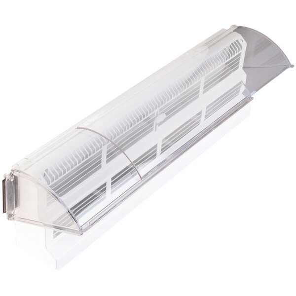 Baseboard Register Air Deflector by Deflect-O