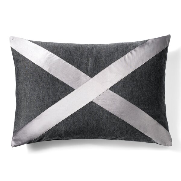Cross Cotton Lumbar Pillow by to BE living