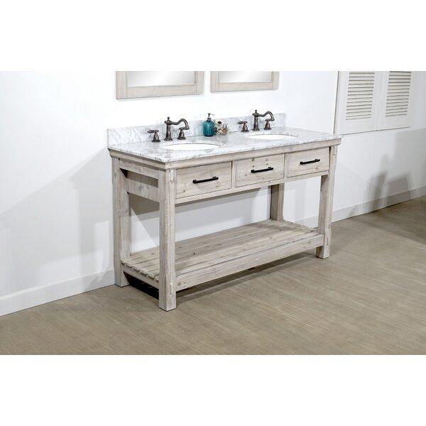 Cecilia 61 Double Bathroom Vanity Set by Millwood Pines
