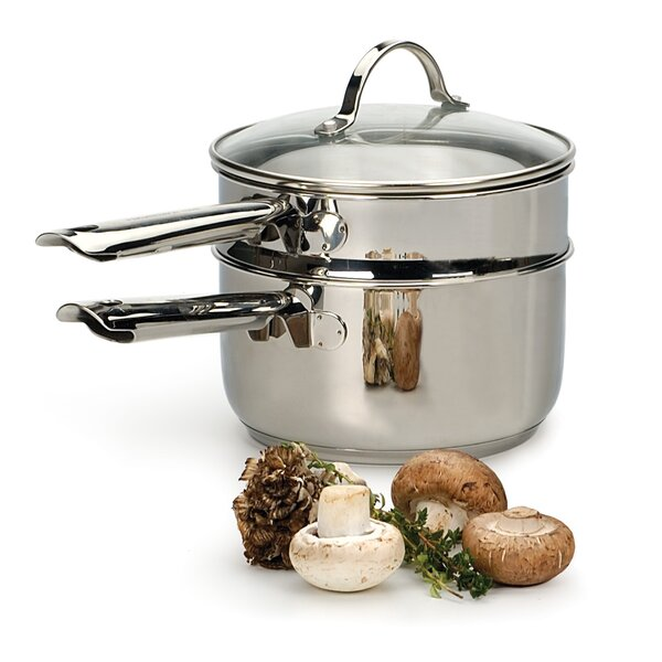 Endurance® 2 Qt. Induction Double Boiler with Lid by RSVP-INTL