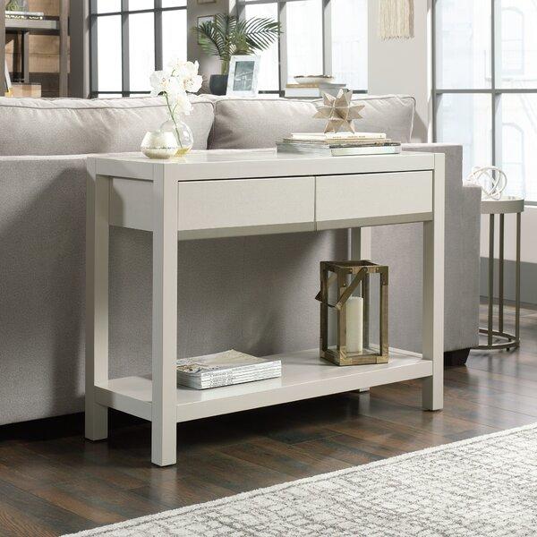 Wolfforth 40-inch Solid Wood Console Table by Ebern Designs Ebern Designs