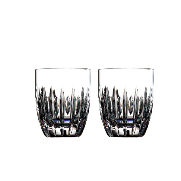 Mara Tumbler 11 oz. Crystal Cocktail Glasses (Set of 2) by Waterford