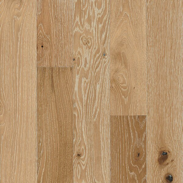 Impressions 5 Engineered Oak Hardwood Flooring in Limed Natural Light by Armstrong Flooring