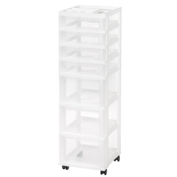 Storage Cart 42.13 H x 12.05 W x 14.25 D Drawer Organizer by IRIS USA, Inc.