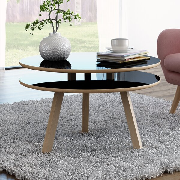 Blandford Beech Wood Coffee Table By George Oliver