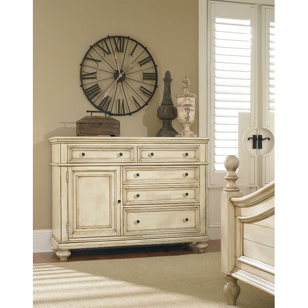 Claudine 5 Drawer Combo Dresser by Standard Furniture