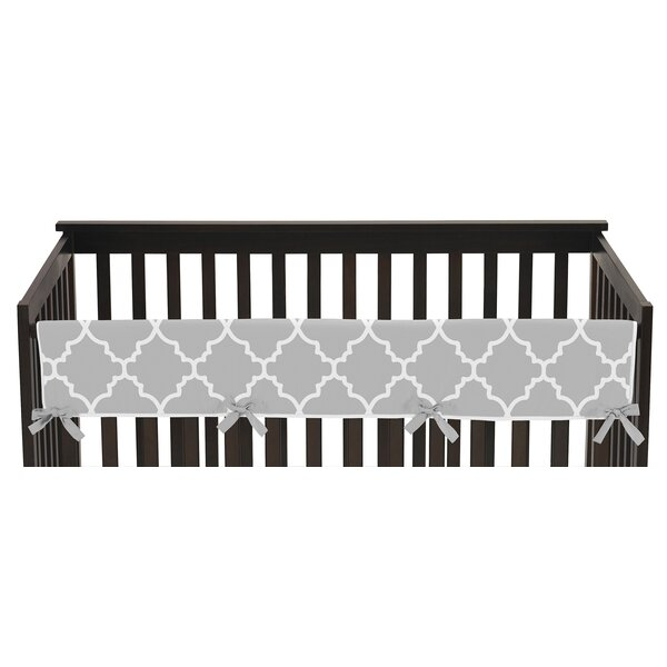 Trellis Long Crib Rail Guard Cover by Sweet Jojo Designs