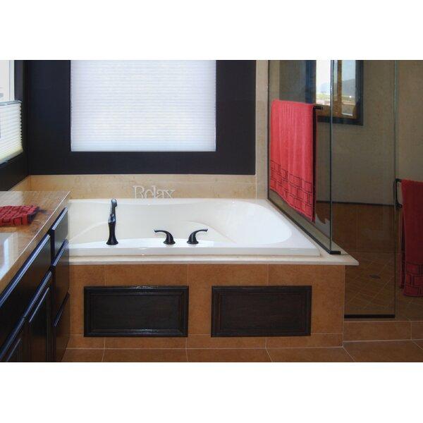 Designer Evansport 60 x 42 Soaking Bathtub by Hydro Systems