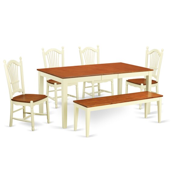 Cleobury Modern 6 Piece Dining Set