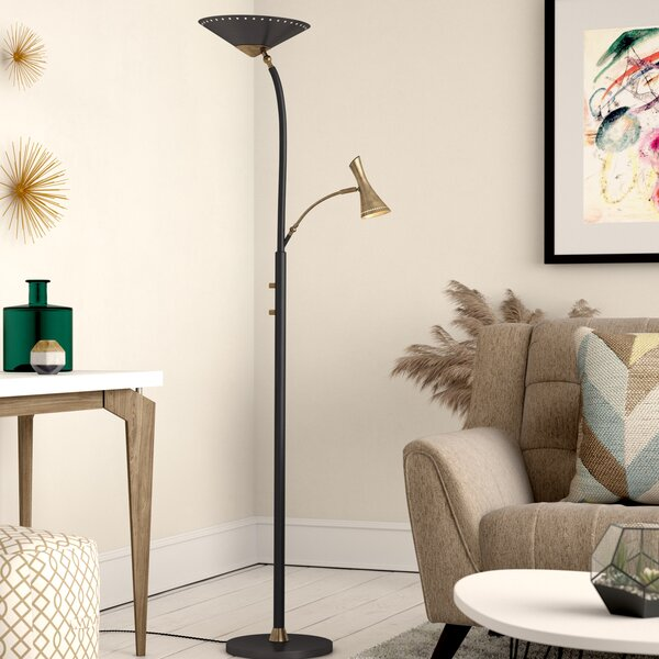 Lance 71.5 Torchiere Floor Lamp by Corrigan Studio