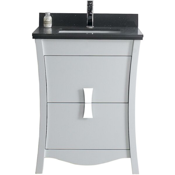 Hendry 24 Single Bathroom Vanity Set