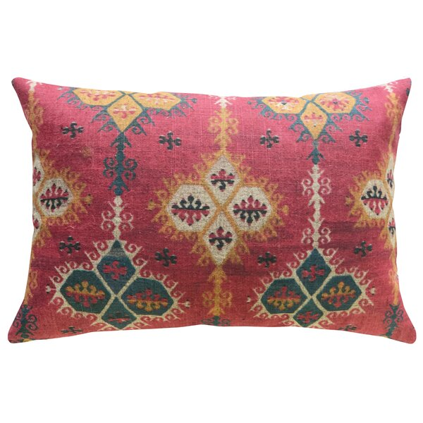 Overly Linen Throw Pillow by Bungalow Rose