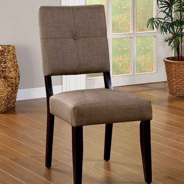 Hudson Yards Upholstered Dining Chair (Set of 2) by Red Barrel Studio