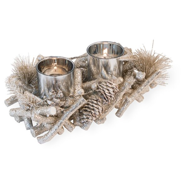Wood Votive Holder by The Holiday Aisle