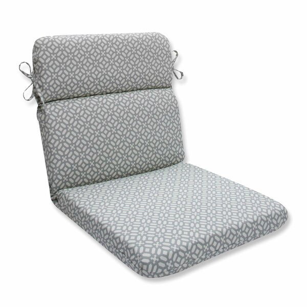 In the Frame Indoor/Outdoor Dining Chair Cushion by Pillow Perfect