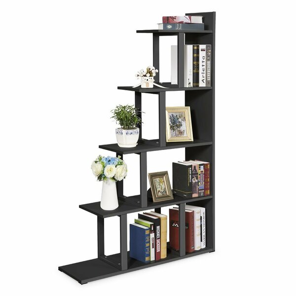 Ramsauer 5 Shelf Ladder Corner Bookcase by Ebern Designs