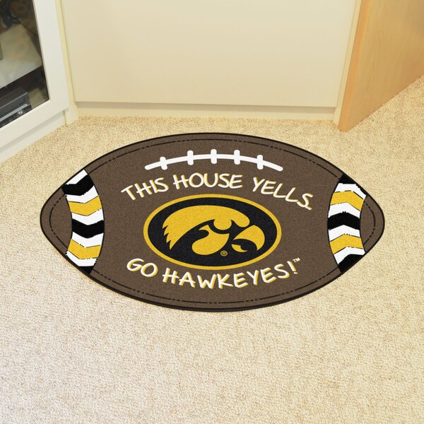 NCAA Iowa Southern Football Doormat by FANMATS