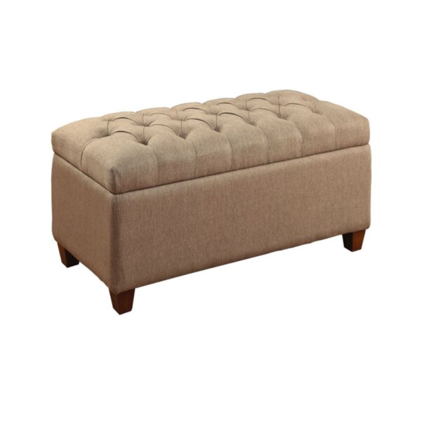 Locke Upholstered Storage Bench by Charlton Home
